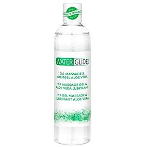 Lubrifiant et Massage Waterglide Aloe Vera - 300 ml