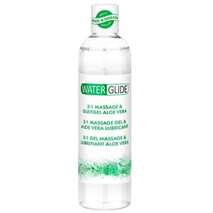 Lubrifiant et Massage Waterglide Aloe Vera - 300 ml