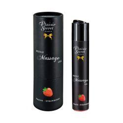 Huile de massage Fraise 59ML Plaisir Secret
