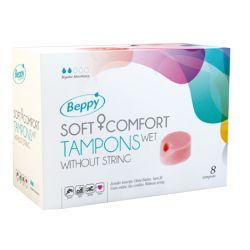 Soft-Tampons sans ficelle - normal Pack de 3