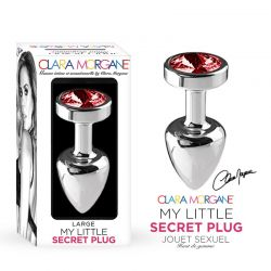 Plug Anal L Rouge My Little Secret Plug Clara Morgane